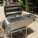 QUIK-FIRE, SS DeLuxe 4n1 Gas Barbeque Grill