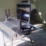 SS Master DeLuxe 4n1 Gas Barbeque Grill