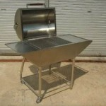 QUIK-FIRE – SS Charcoal Barbecue Grill